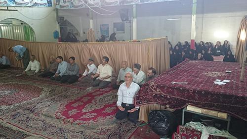 دعا عرفه مسجد جامع 93